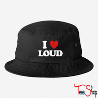 I Love Loud loud bucket hat