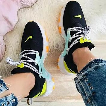 Nike React Presto High Quality Women Casual Breathable Running Sport Shoes Sneakers