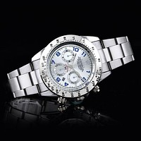 ONETOW Rolex three subtitles strip F-SBHY-WSL Silver