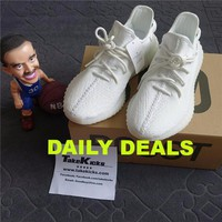 Original Adidas Yeezy Boost 350 V2 Cream Triple White CP9366