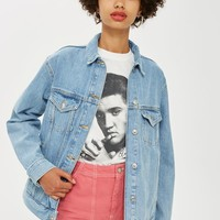 Oversized Denim Jacket | Topshop