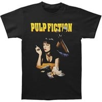 Pulp Fiction Men's  Mia T-shirt Black