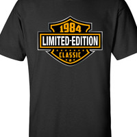 30th Birthday Shirt - 1984, Limited Edition Classic B-day T Shirt Cool hipster swag mens womens ladies TShirt T-Shirt T Shirt Tee  - DT-608
