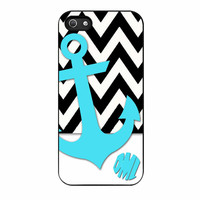 Chevron Anchor Personalized iPhone 5s Case
