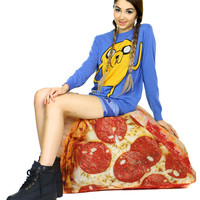 INFLATABLE PIZZA CHAIR