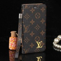 Day-First™ LV Fashion Print iPhone Phone Cover Case For iphone 6 6s 6plus 6s-plus 7 7plus