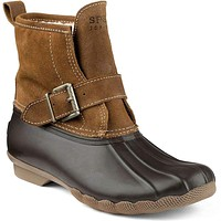 Women's RIP Water Duck Boot in Tan/Brown by Sperry