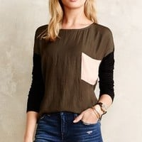 Colorblocked Pocket Top by Dolan