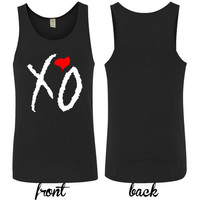 xo the weeknd tank top