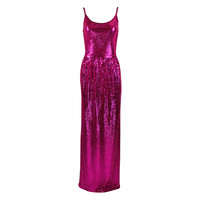 Norell Attribution Pink Mermaid Gown