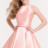 Alyce 3704 Sleeveless Mikado Fit and Flare Dress