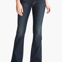 J Brand 722 Love Story Low-Rise Flare Jeans in Trouble, Size 30