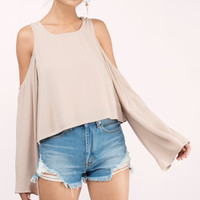 Dahlia Cold Shoulder Blouse