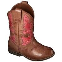 Toddler Girl's Cherokee® Glinda Cowboy Boots - Assorted Colors
