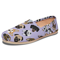 Dog Lover Casual Shoes