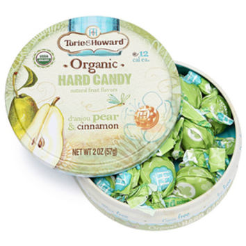 Torie and Howard Hard Candy Tins - D'anjou Pear & Cinnamon: 8-Piece Bo