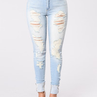 Prime Time Jeans - Light Blue