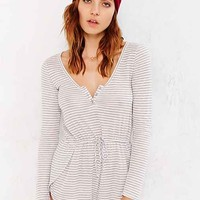 Staring At Stars Henley-Front Romper-