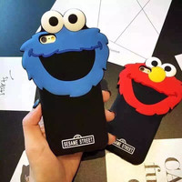 Korean Lovely Iphone Phone Case Apple Couple Silicone Phone Case [6463870342]