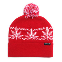 HUF - NORDIC BEANIE // RED