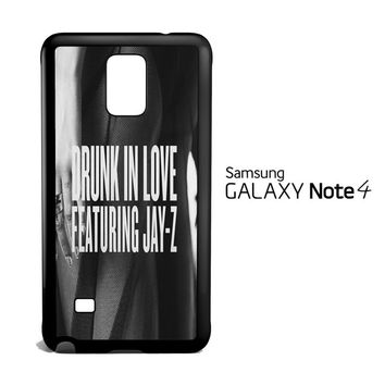 BEYONCE SONG V1814 Samsung Galaxy Note 4 Case