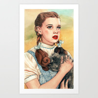 I Don't Think We're In Kansas Anymore Art Print by Helen Green