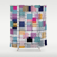 GO Shower Curtain by spinL