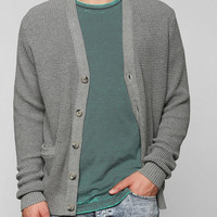 Your Neighbors Waffle Cardigan - Urban Outfitters
