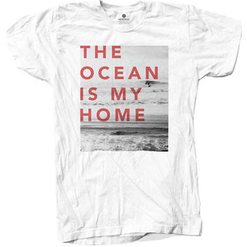 The Ocean Is My Home - White