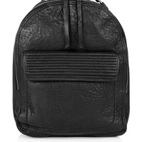 Leather Zip-Around Backpack | Topshop