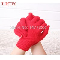New winter Cashmere Gloves Points Finger fingers Knitted elastic Woman Drove Thickening genuine Free shipping