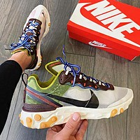 Nike React Element 87 vintage old shoes running shoes