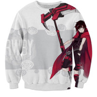 RWBY Male flip Ruby Rose Garnet