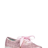 Keds for Kate Spade New York Pink Glitter Sneakers