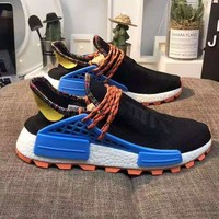 Adidas X Pharrell HU NMD Trending Men Breathable Running Sport Sneakers Shoes