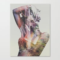 Wilderness Heart Canvas Print by Andreas Lie