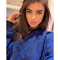 Louis Vuitton LV Fashion Letter Pullover Sweater