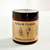Roots & Flowers Herbal Coconut Hair And Skin Oil