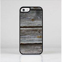 The Aged Wood Planks Skin-Sert Case for the Apple iPhone 5c