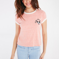 Mickey Mouse Club™ Embroidered Baby Tee   Wet Seal
