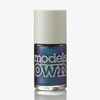 Models Own Aqua Violet Nail Polish (Beetlejuice Collection)