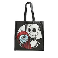 Licensed cool Disney The Nightmare Before Christmas Reusable Grocery Shopping ECO Tote Bag
