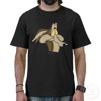 Wile E. Coyote Impending Doom Shirt from Zazzle.com