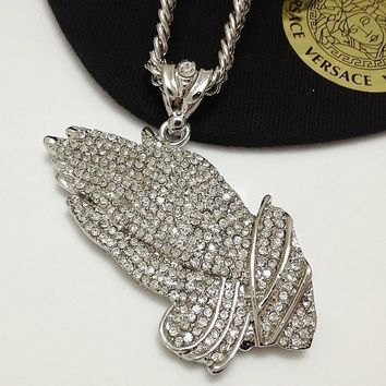 Gift Jewelry Stylish Shiny New Arrival Hip-hop Accessory Pendant Necklace [6542719555]