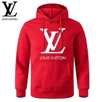 ADIDAS NIKE LV Louis Vuitton Hot Sale Classic Printed Letter Clover T-Shirt Hoodie