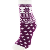 Yaktrax Women's Cozy Nordic Cabin Crew Sock | DICK'S Sporting Goods