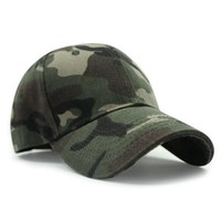 Outdoor Camouflage Pattern Sunscreen Baseball Hat
