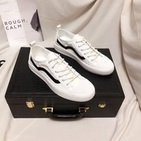 Prada  Man Fashion Casual Shoes Men Fashion Boots fashionable Casual leather Breathable Sneakers