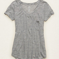 AERIE STRIPED REAL SOFT® TEE