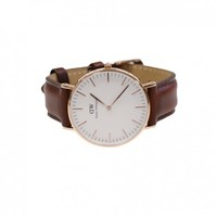 Daniel Wellington Classic St. Andrews Lady 36mm Rose Gold Wrist Watch for Women